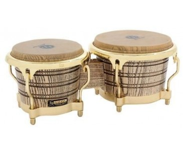 Latin Percussion LP793X Galaxy Giovanni Wood Bongos Gold Aksam