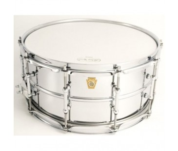 "Ludwig LB402BT Chrome Plated Brass Trampet 6,5""x14"""