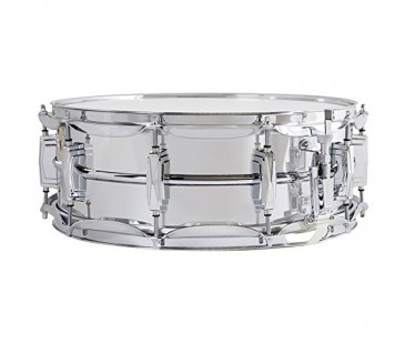 "Ludwig LM400T Chrome Plated Aluminium Trampet 5""x14"""