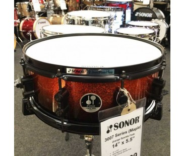 "Sonor F371205SDWB Trampet 12""x5"" Orange Fade Maple"