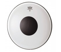 Remo Bass Controlled Sound Clear 20 Diameter Black Dot On Top