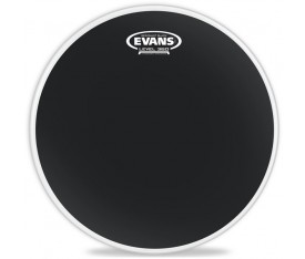 "Evans Deri 16"" Resonant Siyah Tom Alt Clear Tek Kat (7 Mil)"