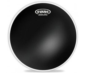 "Evans Deri 18"" Black Chrome Tom Clear Çift Kat (14,5 Mil)"