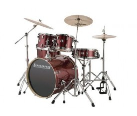 Ludwig Element Evolution LCEE20025 Red Sparkle Bateri Seti