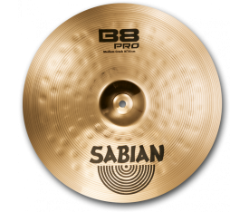 "Sabian 16"" B8 Pro Medium Crash Brilliant"