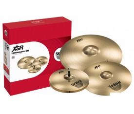 Sabian XSR5005B XSR Series Performance Set - Brilliant