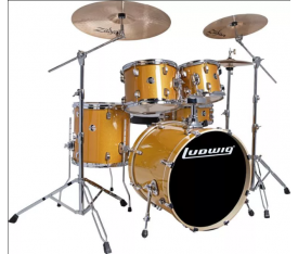Ludwig Element Evolution LCEE20021 Gold Sparkle Bateri Seti