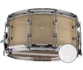 Ludwig LS403 Classic Maple White Marine Pearl 6.5 X 14 Trampet