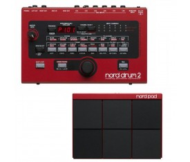 NORD Drum 2 Synthesiser + NORD Pad Bundle
