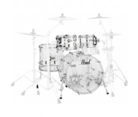 Pearl CRB504P/C730 Crystal Beat Acrylic Ultra Clear, Fusion Davul Seti