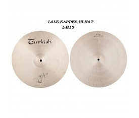 "Turkish Cymbals Lale Kardeş Signature 15"" Hi-Hat"