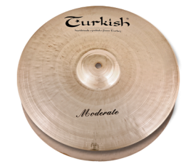 "Turkish Cymbals Moderate Set  14""Hihat, 16""Crash, + Bag )"