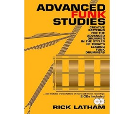 Advanced Funk Studies - Rick Latham Davul Kitabı