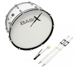 BASIX F893.120 CHESTER Marching Bass Drum 24 x 10