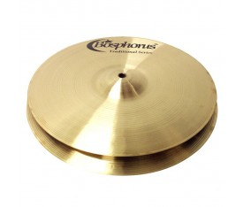 "Bosphorus Traditional 15"" Hi-Hat Dark"