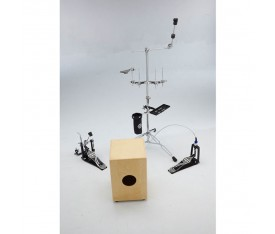 Dixon Cajon Hardware Set Hand Percussion Setup