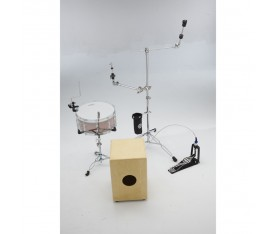 Dixon Cajon Hardware Set Drum Kit Setup