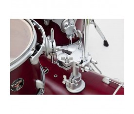 "Dixon Fuse 14"" Floor Tom Satin Candy Red Burst"