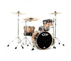 DW Pacific Drums Natural Charcoal Fade Davul Seti