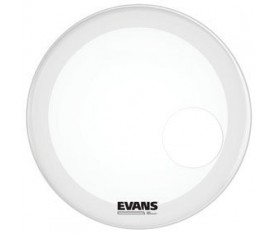 "Evans BD20RSW EQ3 Smooth White 20"" Resonant Bas Davul Ön Deri"