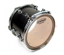 "Evans TT10ECR 10"" EC Resonant Clear Tom Alt Derisi"