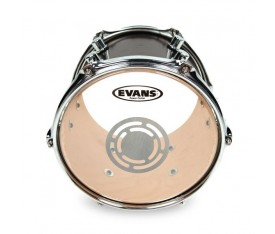 "Evans TT10PC1 10"" Power Center Clear Tom Derisi"