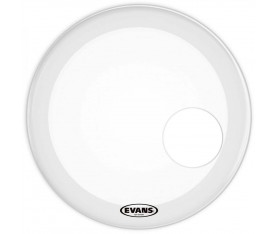 "Evans BD20RGCW 20"" Resonant Frosted Coated Bas Davul Derisi"