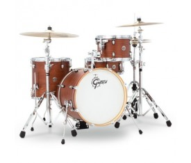 Gretsch Catalina Club Series 18 Inch 4 Parça Akustik Davul Seti (Satin Walnut Gaze)