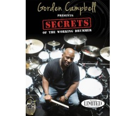 "Hudson Music Gorden Campbell ""Secrets of The Working"" Drummer DVD"