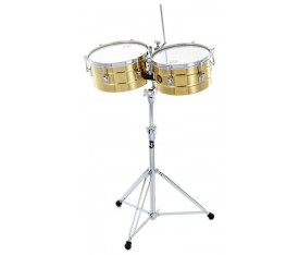 LATIN PERCUSSION LP255-B - 12'' & 13'' Tito Puente Brass Timbal