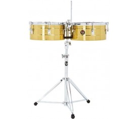 LATIN PERCUSSION LP256-B  - 13'' & 14'' Tito Puente Brass Timbal