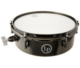 "LATIN PERCUSSION LP812-BN - 12""x4'' Drum Set Black Nickel Timbal"