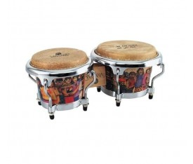 LATIN PERCUSSION LPM200-AW - LP® Miniature Collection Santana Akortlu Mini Bongo