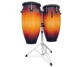 "LATIN PERCUSSION M846S-VSB - 11"" & 11-3/4"" Matador Custom Wood Conga Set"
