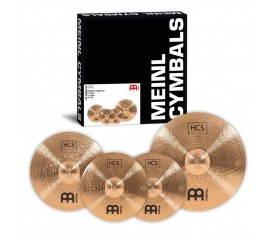 "Meinl Hcs Bronze Zil Seti Set (14""Hi Hat, 16"" Crash, 20"" Ride)"
