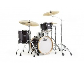 PEARL MCT983XP/C355 - Masters Maple Complete Limited Edition Antique Walnut 3 Parça (18B/12T/14F) Akustik Davul Seti