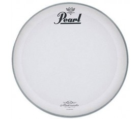 "Pearl MWH-18PL 18"" Coated P3 w/MasterWorks Logo Bass Drum Front Head Deri"