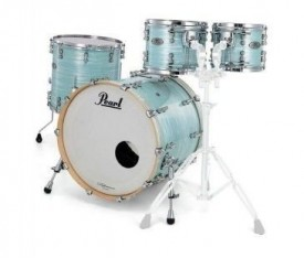 PEARL RFP904XEP/C414 - Reference Pure Ice Blue Oyster 4 Parça (20B/10T/12T/14F) Akustik Davul Seti
