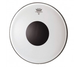 "REMO CS-1324-10- Controlled Sound® Şeffaf Top Black Dot™ 24"" Bas Davul Derisi"