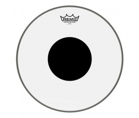"REMO CS-0310-10- Controlled Sound Şeffaf Black Dot 10"" Deri"