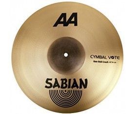 "Sabian 18"" AA Raw Bell Crash Brilliant"