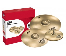 Sabian XSR5009B XSR Serisi Brilliant Rock Performance Zil Seti