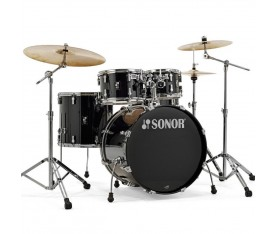 Sonor AQ1 Stage Akustik Davul Seti (Piano Black)