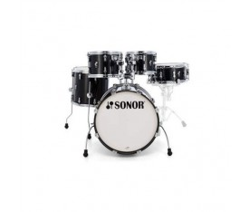 Sonor AQ2 Bop Set Akustilk Davul (Transparent Satin Black)