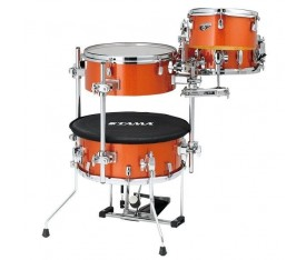 TAMA CJB46C-BOS - Cocktail-JAM Bright Orange Sparkle 4 Parça (16B/10T/14F/12S) Kompakt Davul Seti