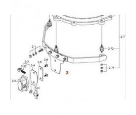 TAMA MSM13F 13'' Star-Cast Mounting System