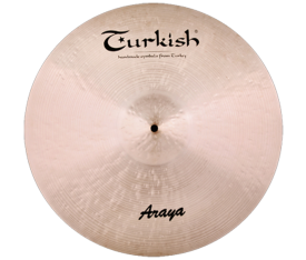 "Turkish Cymbals Araya 21"" Ride"
