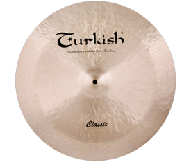 "Turkish Cymbals Classic 8"" China"