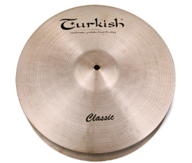 "Turkish Cymbals Classic 14"" Hihat Flat Hole"