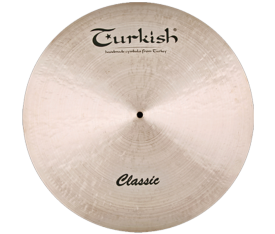"Turkish Cymbals Classic 20"" Ride Custom Dry"